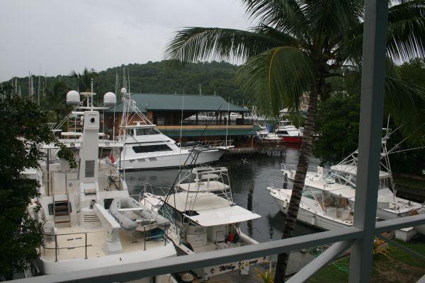 Utsikt från vårt hotellrum